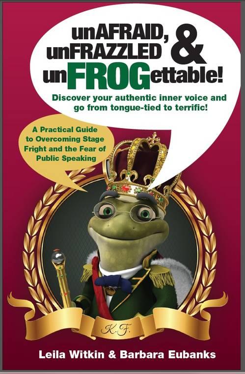 FREE e-book UnAfraid, UnFrazzled, and UnFrogettable
